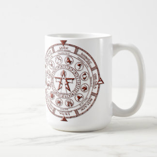 Ruby Celtic Runic Zodiac Coffee Mug