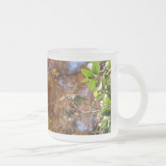 Ruby-crown Eats Mug