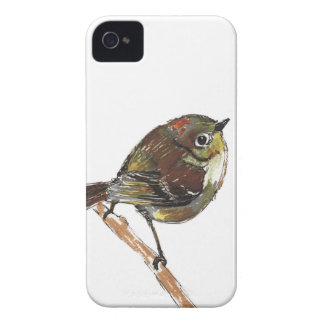 Ruby Crowned Kinglet for iPhone 4 Case-Mate iPhone 4 Case