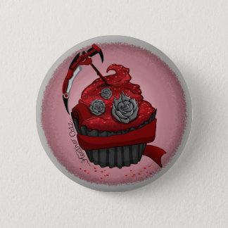 Ruby Cupcake Badge Button