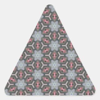Ruby Diamonds 1 Triangle Sticker
