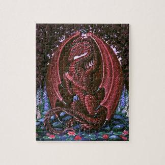 Ruby Dragon Puzzle
