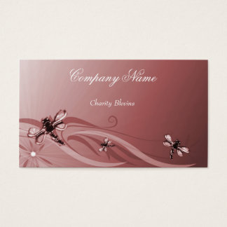 Ruby Dragonflies Business Card