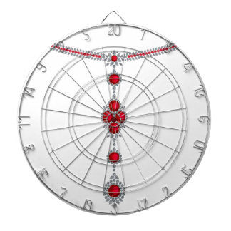 Ruby Enchantment Necklace Dart Board