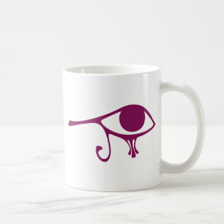 Ruby Eye of Horus Mugs