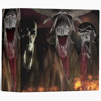 Ruby Falls Horror Art Binder