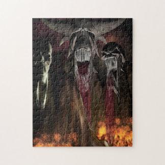 Ruby Falls Horror Art Puzzle
