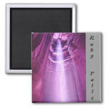 Ruby Falls, Lookout Mountain 2 Inch Square Magnet