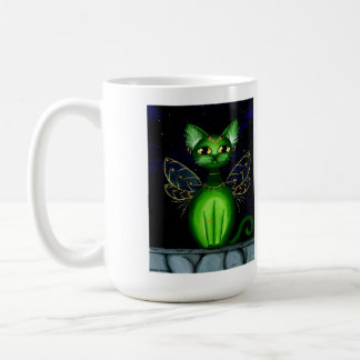 Ruby, Fantasy Anime Fairy Kitty Coffee Mug