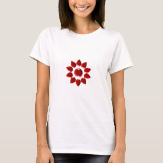 Ruby flower T-Shirt
