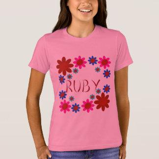 RUBY Flowers T-Shirt