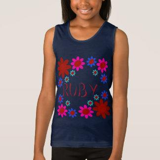 RUBY Flowers Tank Top
