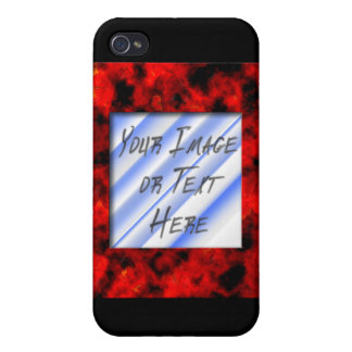 Ruby Frame Covers For iPhone 4
