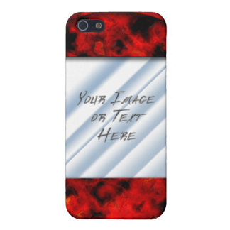 Ruby Frame iPhone SE/5/5s Cover