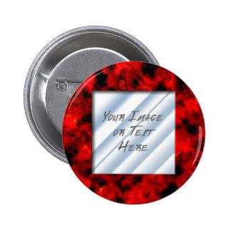 Ruby Frame Pinback Button