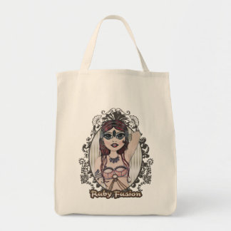 Ruby Fusion Belly Dance Character Tote Bag