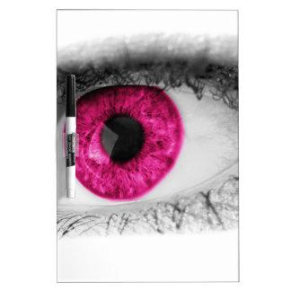 Ruby Girl Eye Dry Erase Board