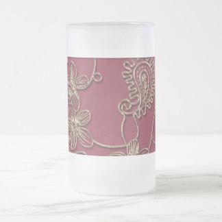 Ruby Gold Christmas Mug