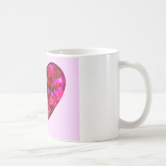 Ruby Heart Coffee Mug