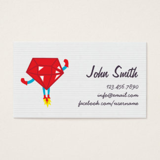 Ruby Hero Coder/Programmer Business Card