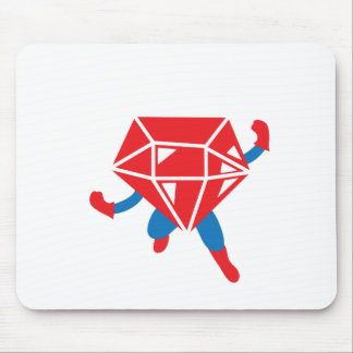 Ruby Hero Mouse Pad