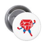 Ruby Hero Pin