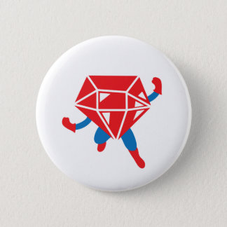 Ruby Hero Pinback Button