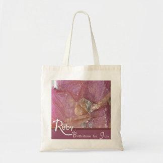 Ruby - July Birthstone Bag