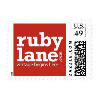 Ruby Lane Stamp $0.49 (1st Class 1oz)