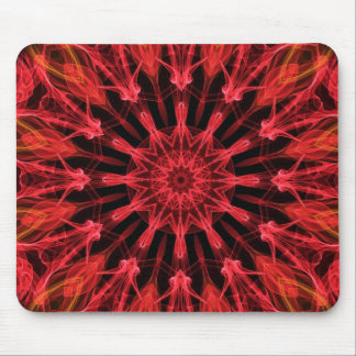 Ruby Love kaleidoscope Mouse Pad