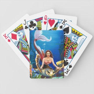 Ruby Mermaid Playing cards