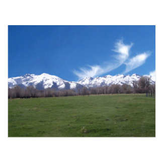 Ruby Mountains In April Postcards