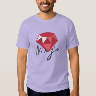 Ruby Ninja Gemstone Geek Shirt