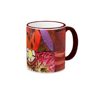 Ruby Patchwork Mug