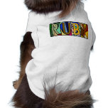 RUBY ~ PERSONALIZED BIGLETTERS~ PET-WARE FOR DOGS! DOGGIE TEE