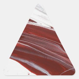 Ruby Pillars Triangle Sticker
