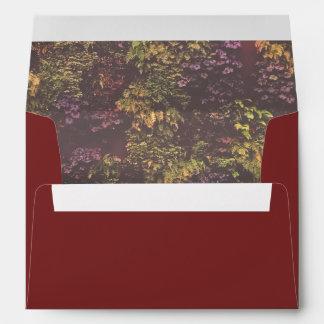 Ruby Plant Wall Envelope