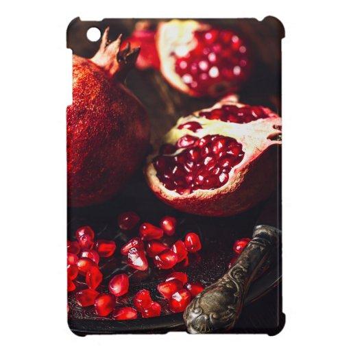 Ruby pomegranate case for the iPad mini
