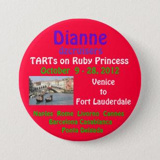 ruby princess 2012 TA Fall Pinback Button