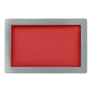 Ruby Red Belt Buckle