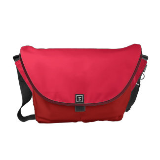 Ruby Red Courier Bag