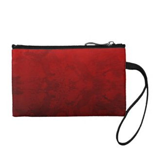 Ruby Red Design Coin Wallets