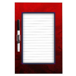 Ruby Red Design Dry-Erase Board