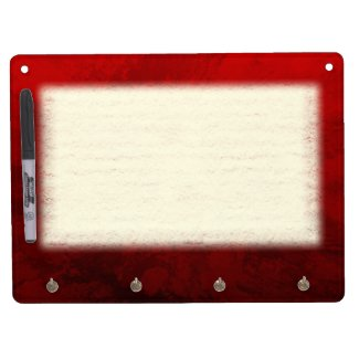 Ruby Red Design Dry-Erase Whiteboards