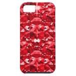 Ruby Red Diamonds iPhone 5 Covers