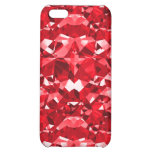 Ruby Red Diamonds iPhone 5C Cases