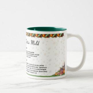 Ruby Red Gelatin Mold Two-Tone Coffee Mug