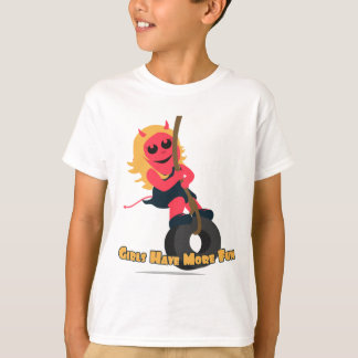 Ruby Red: Girls Have More Fun T-Shirt