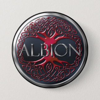 Ruby Red HMA Albion Button