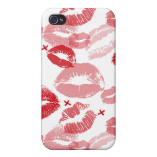 Ruby Red Kisses 4/4S Speck iPhone Case iPhone 4/4S Case